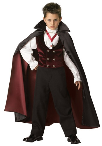Boys Gothic Vampire Costume By: In Character for the 2015 Costume season.