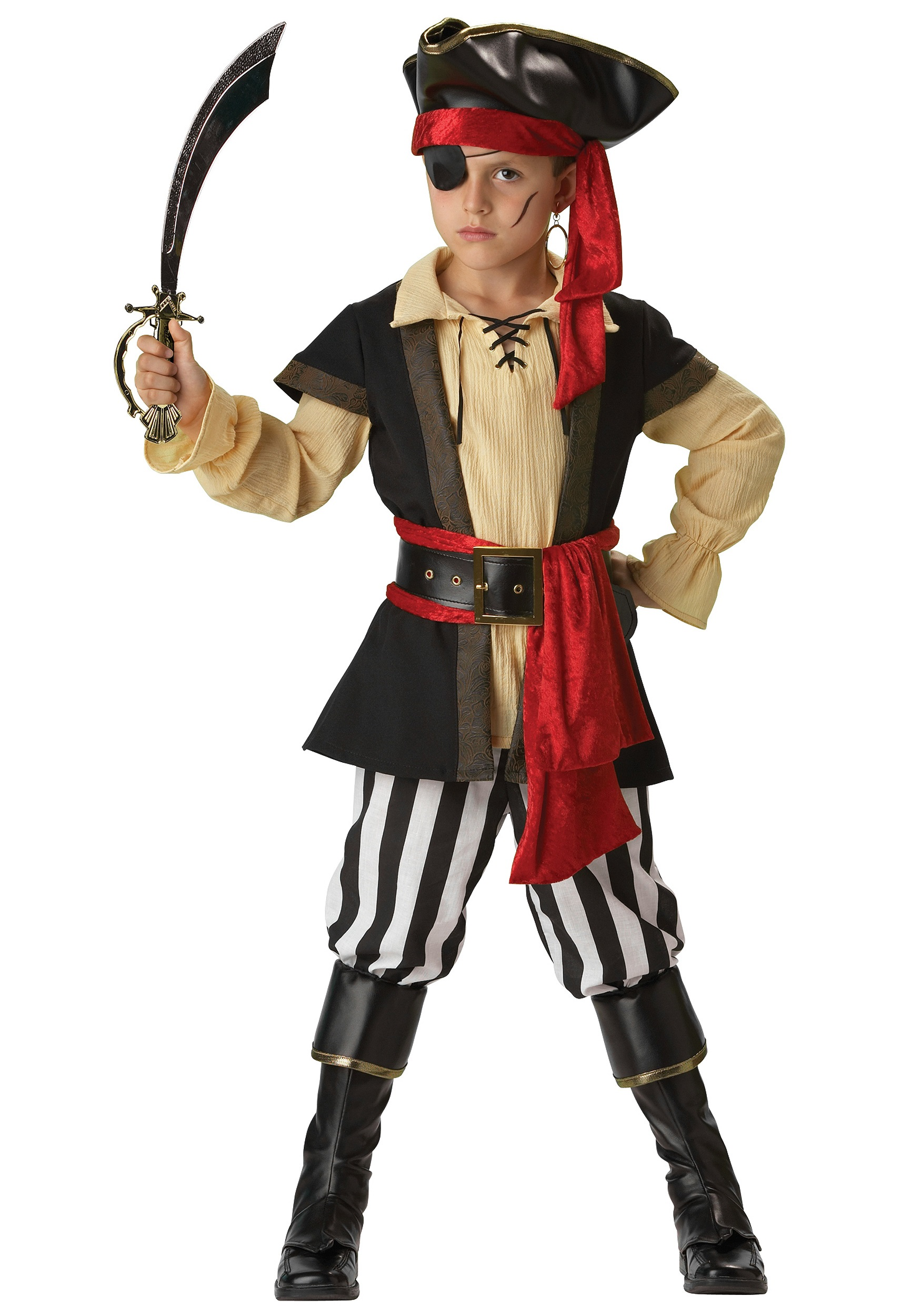 kids scoundrel pirate costume. Black Bedroom Furniture Sets. Home Design Ideas