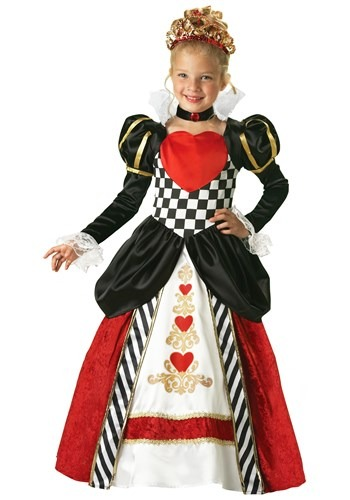 Child Deluxe Queen of Hearts Costume By: In Character for the 2015 Costume season.