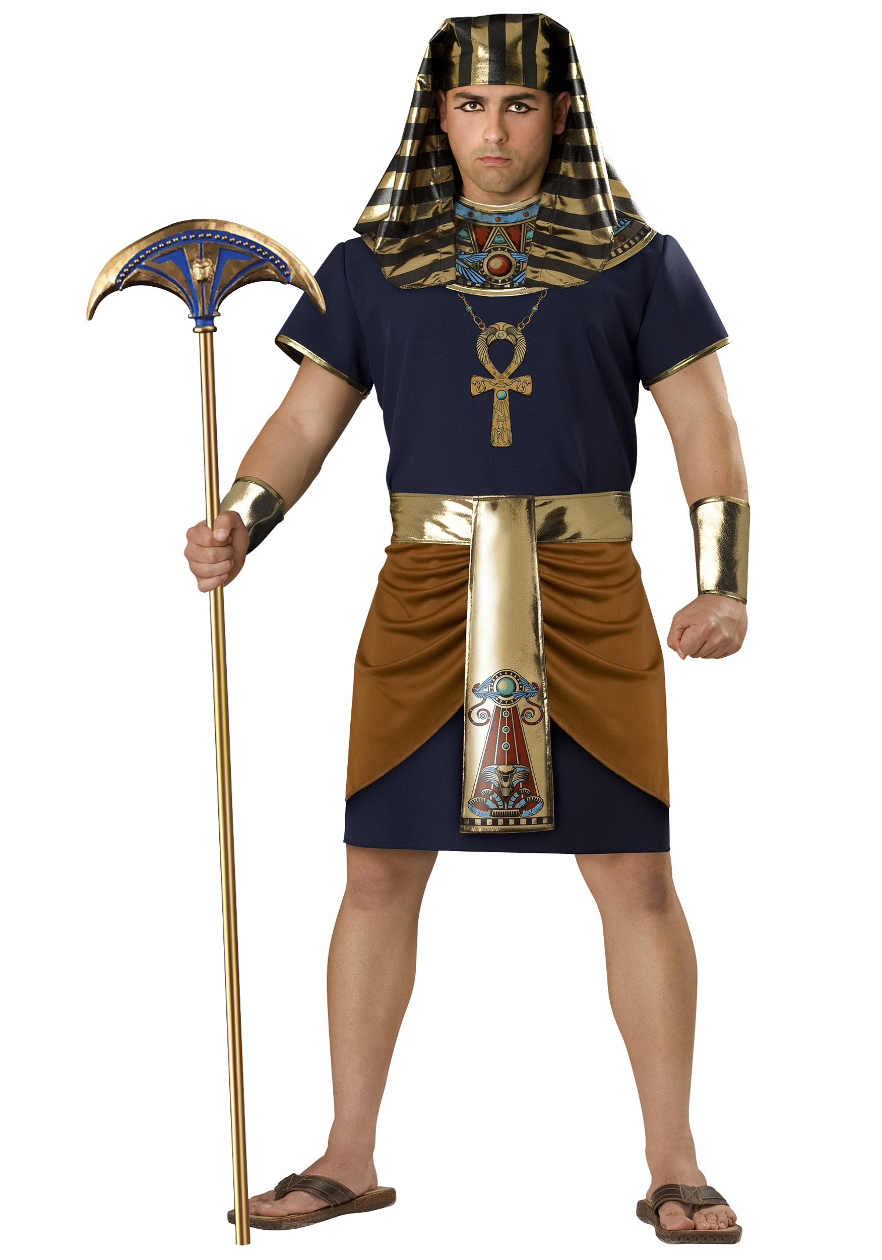 Plus size mens costumes adult plus size halloween costumes for men plus size egyptian pharaoh costume solutioingenieria Images