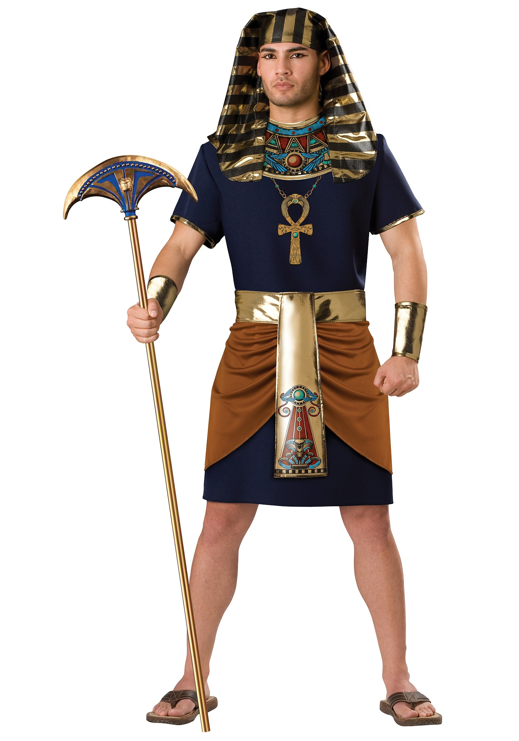 Egyptian Pharaoh Costume  sc 1 st  Halloween Costumes & Egyptian Costumes - Childrenu0027s Male Sexy Egyptian Costume