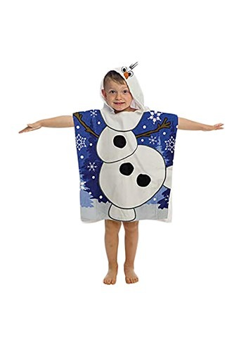 Frozen Olaf Hooded Costume Poncho