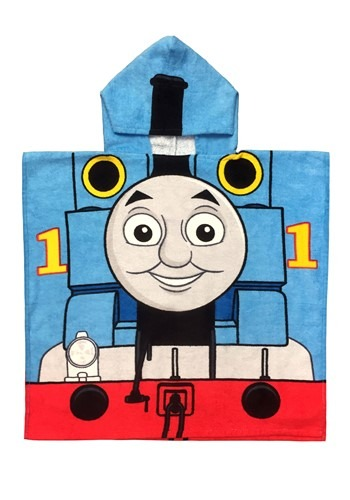 Thomas the Tank Engine Hooded Costume Poncho