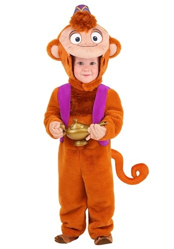 Aladdin Toddler Abu Deluxe Costume 1
