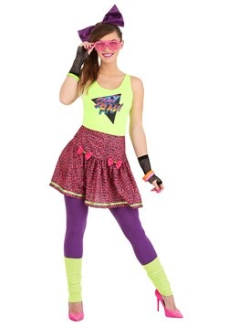 Womens 80s Rad Costume