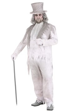 Men's Plus Size Victorian Ghost Costume