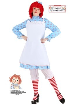 Women's Exclusive Raggedy Ann Costume