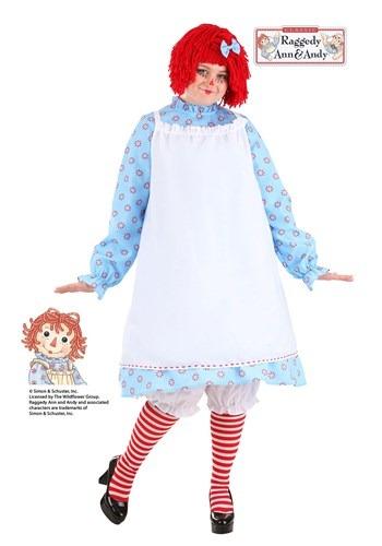 Plus Size Exclusive Raggedy Ann Costume