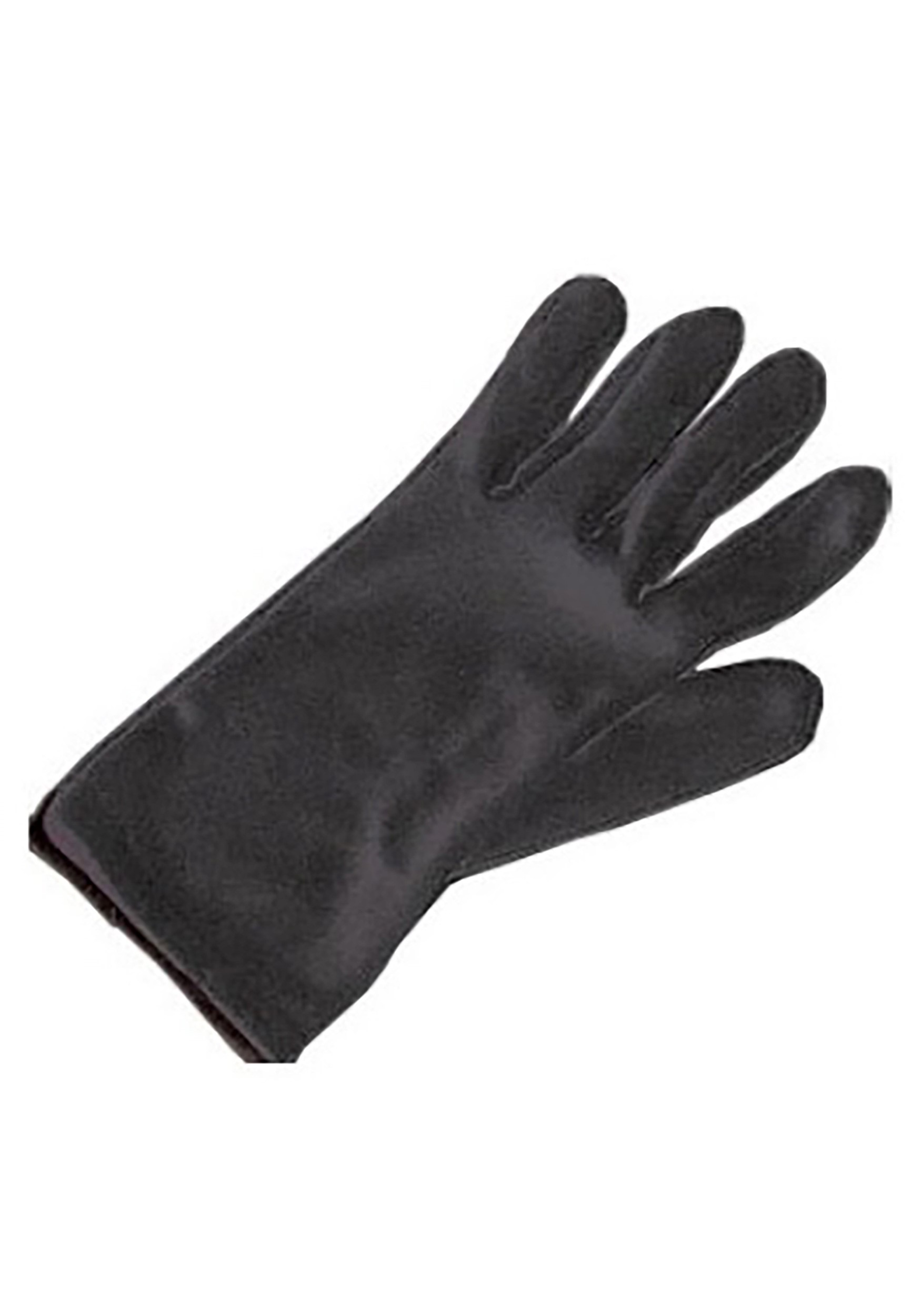 Black Costume Gloves for Kids
