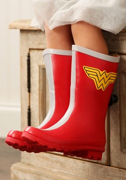 DC Comics Girls Wonder Woman Rain Boots Update