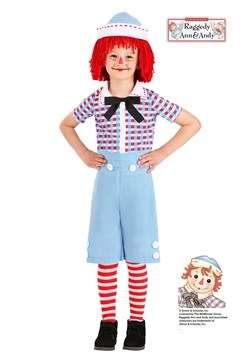 Toddler's Raggedy Andy Costume