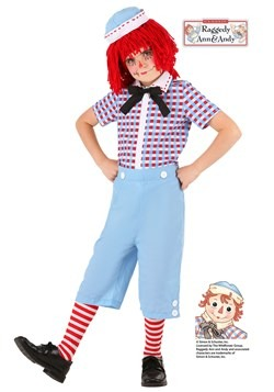 Kid's Raggedy Andy Costume