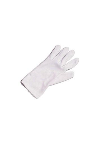 Kids White Costume Gloves
