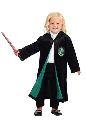 Harry Potter Toddler Deluxe Slytherin Robe