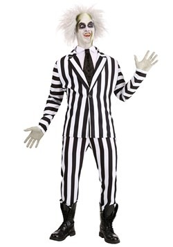 Beetlejuice Plus Size Adult Costume 1