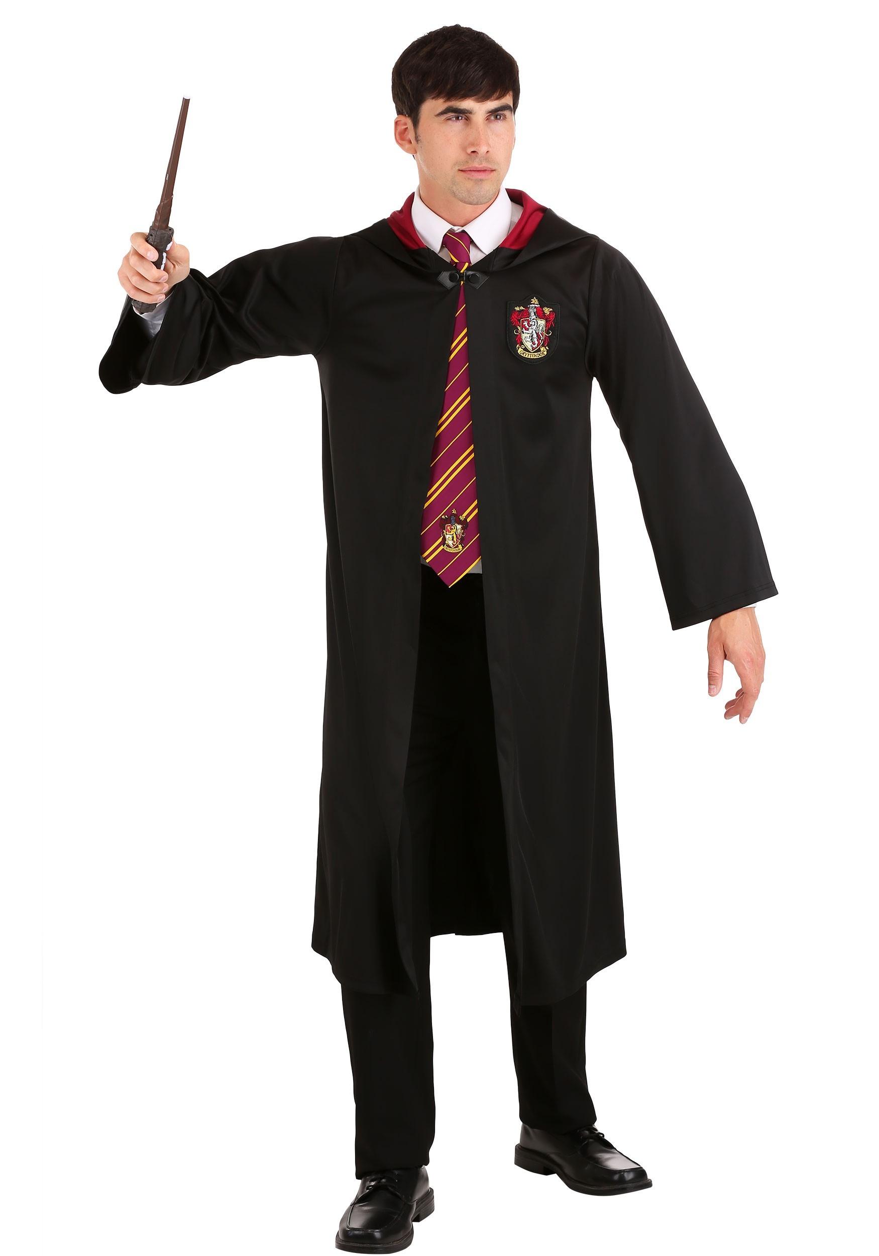 Harry Potter Gryffindor Hogwarts Men/'s Adult Size Costume Robe Size Standard