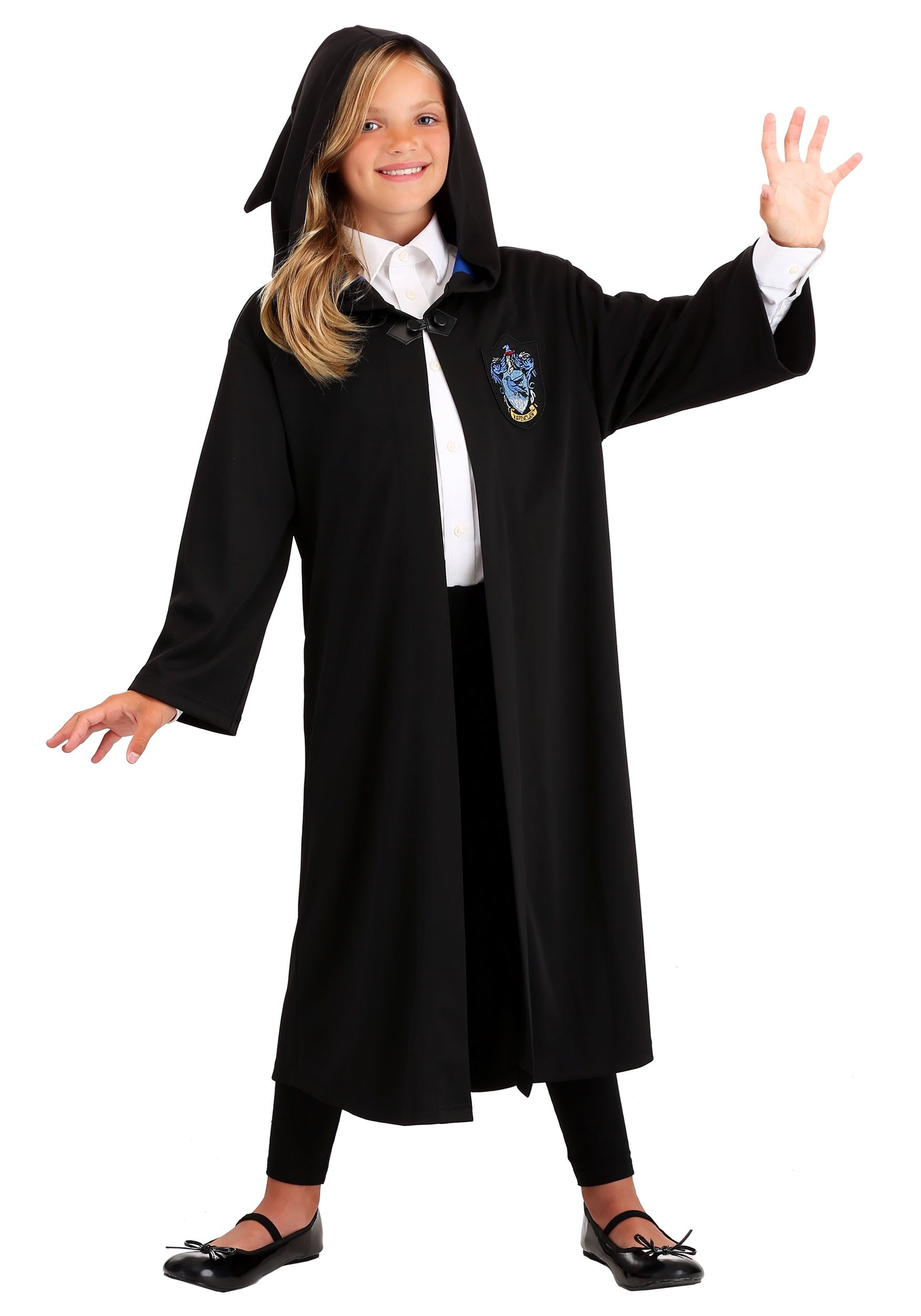 Boys Child HARRY POTTER Ravenclaw Robe Costume Outfit