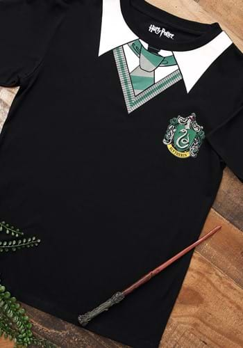 Harry Potter Adult Slytherin Costume T-Shirt