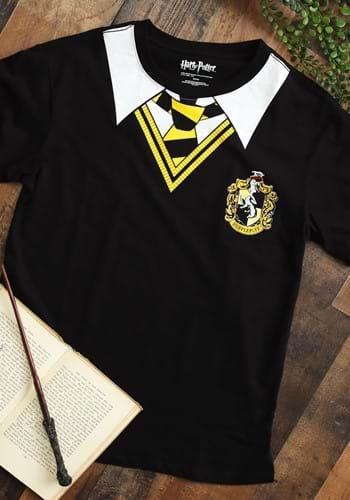 Harry Potter Adult Hufflepuff Costume T-Shirt