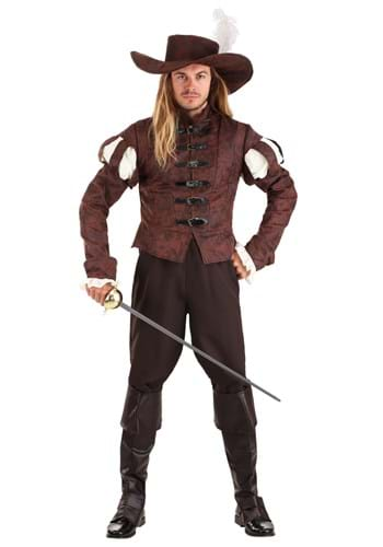 Men's Suave Swordsman Costume Main