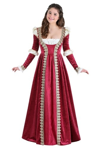 Women's Crimson Maiden Costume