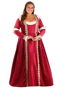 Plus Size Women's Crimson Maiden Costume