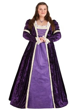 Plus Size Women's Regal Maiden Costume Main