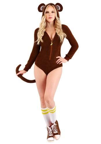 Women's Sassy Monkey Costume Main