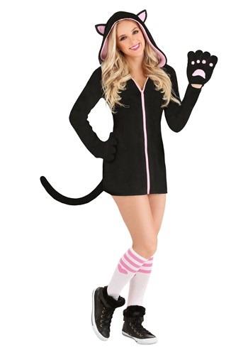 Women's Midnight Kitty Costume1