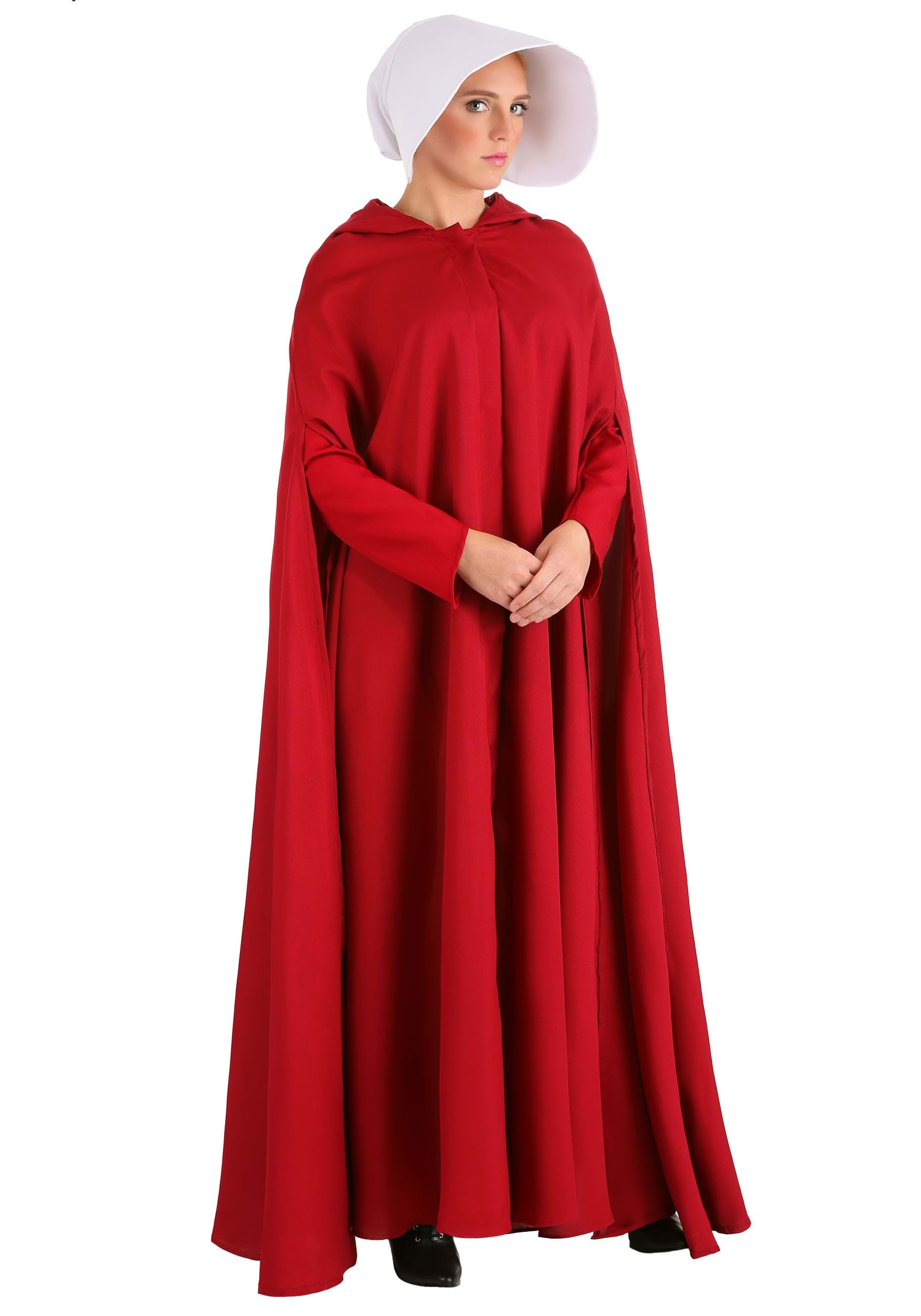 Handmaid's Tale Costume for Women | Movie Character Costume-book character costume ideas for adults