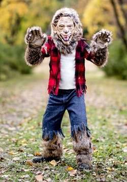 Kids Premium Werewolf Costume new main