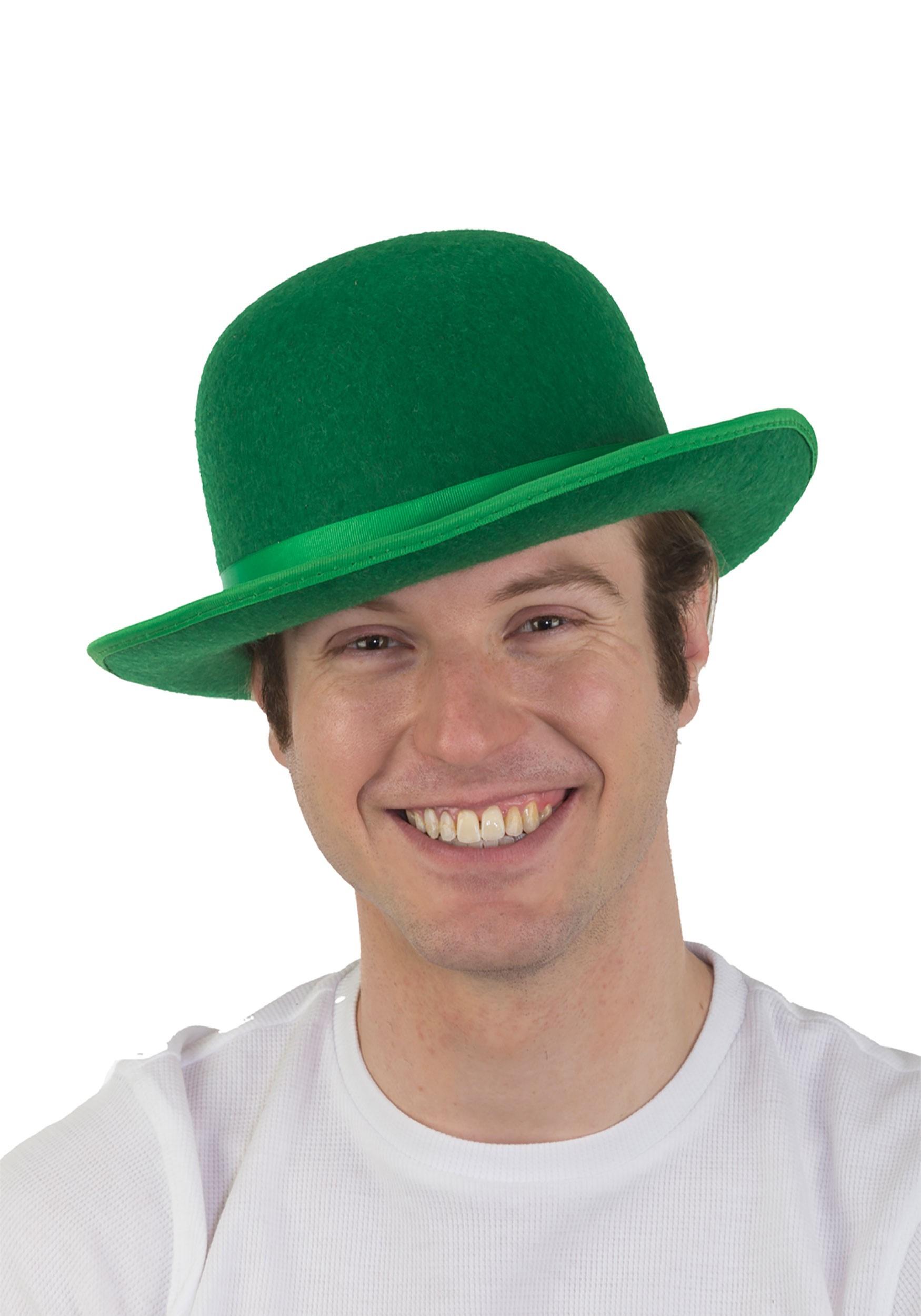 6dcc6b4b0 Green Derby Hat