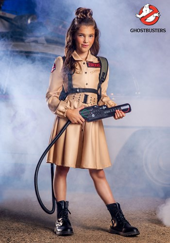 Ghostbusters Girls Costume Dress 1upd