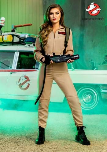 Womens Ghostbusters Costume Jumpsuit 1
