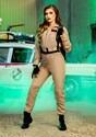 Womens Ghostbusters Costume Jumpsuit Alt 1