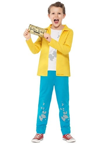 Willy Wonka Child Charlie Bucket Costume