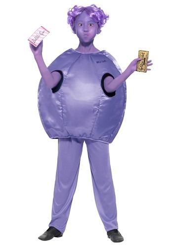 Willy Wonka Kids Violet Beauregarde Costume