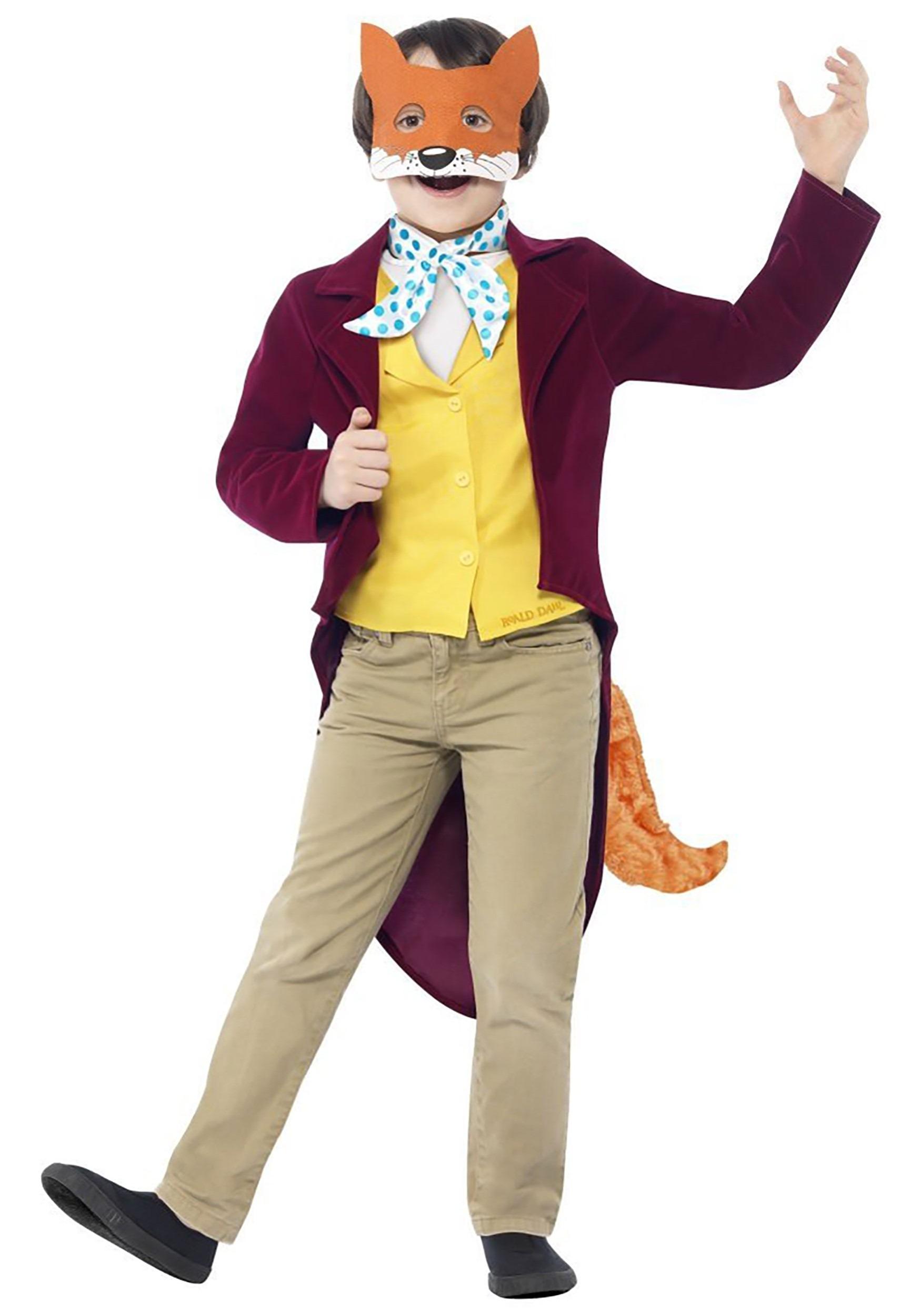 Kids Roald Dahl Fantastic Mr Fox Costume