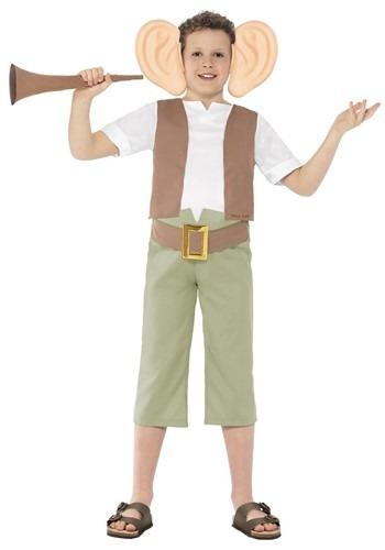 Roald Dahl Tween BFG Costume update