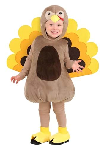Crafty Turkey Costume for Toddlers
