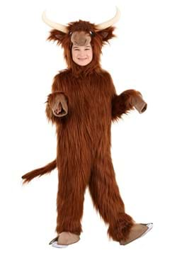 Kid's Highland Cow Costume Main