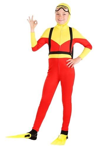Kid's Sunny Scuba Diver Costume