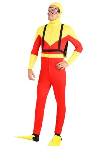 Adult's Sunny Scuba Diver Costume
