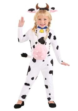 Toddlers Country Cow Costume