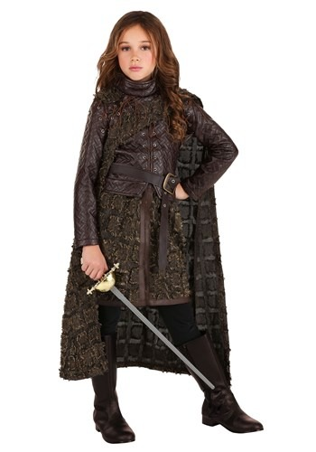 Girl's Winter Warrior Costume