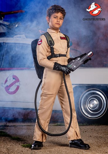 Ghostbusters Kid's Deluxe Costume update