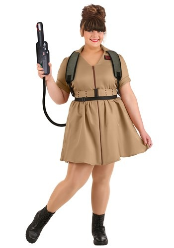 Ghostbusters: Women's Plus Size Costume Dress