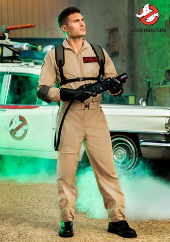 Ghostbusters Mens Plus Size Cosplay Costume new1