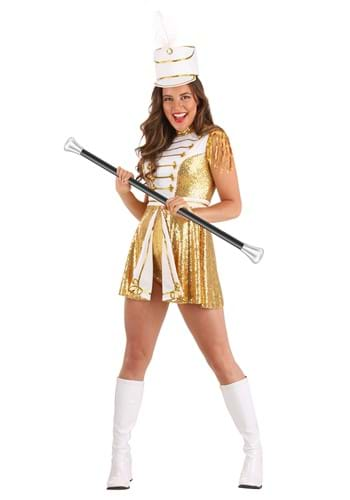 Women's Golden Marching Band Costume