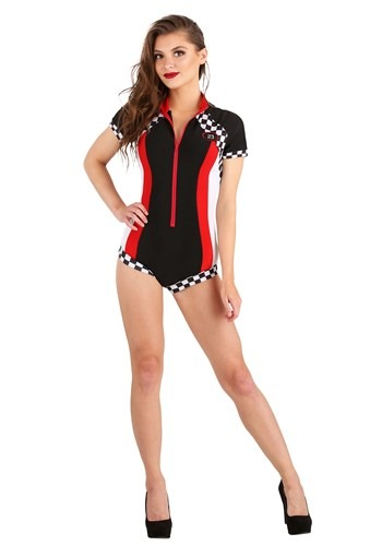 Womens Snappy Racer Costume